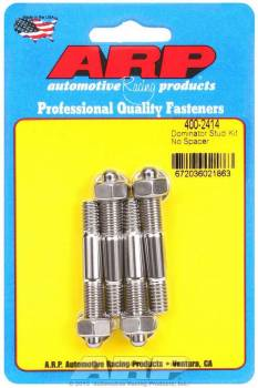 "ARP - ARP Stainless Steel Carburetor Stud Kit - 5/16"" x 2.225"" OAL"