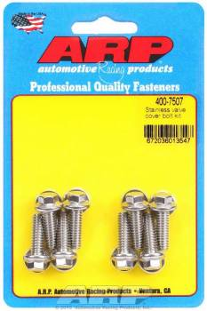 """ARP - ARP Stainless Steel Valve Cover Bolt Kit - For Cast Aluminum Covers - 1/4""""-20 - .812"""" Under Head Length - Hex (8 Pieces)"""