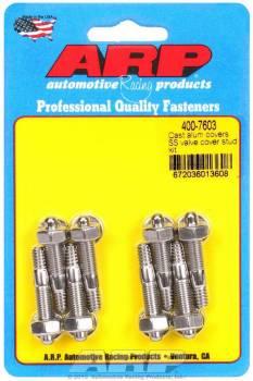 "ARP - ARP Stainless Steel Valve Cover Stud Kit - For Cast Aluminum Valve Covers - 1/4""-20 Thread - (8 Pack)"