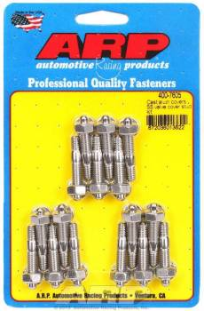 "ARP - ARP Stainless Steel Valve Cover Stud Kit - Hex - Cast Aluminum Covers - 1/4""-20 Thread - Set of 16"