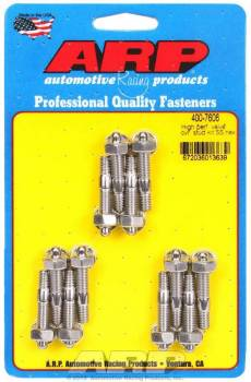 "ARP - ARP Stainless Steel Valve Cover Stud Kit - Hex - Cast Aluminum Covers - 1/4""-20 Thread - Set of 12"