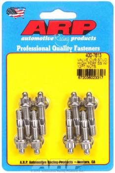 """ARP - ARP Stainless Steel Valve Cover Stud Kit - For Cast Aluminum Covers - 1/4""""-20 - 1.500"""" UHD - 12-Point (8 Pieces)"""