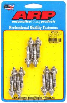 "ARP - ARP Stainless Steel Valve Cover Stud Kit - For Cast Aluminum Valve Covers - 12 Pt. - 1/4""-20 x 1.500"""