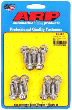 ARP - ARP Stainless Steel Trany Pan Bolt Kit - 12 Point