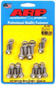 ARP - ARP SB Chevy Stainless Steel Oil Pan Bolt Kit -