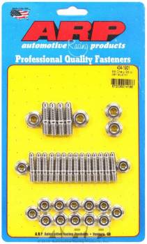 ARP - ARP SB Chevy Stainless Steel Oil Pan Stud Kit - Hex Nut - SB Chevy