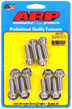ARP - ARP High Performance Stainless Steel Intake Manifold Bolt Kit - SB Chevy 265-400 - 12 Pt. Heads