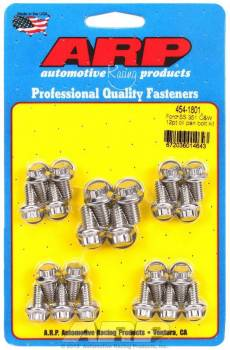 ARP - ARP Stainless Steel Oil Pan Bolt Kit - 12-Point Nut - SB Ford, Cleveland