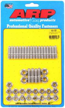 ARP - ARP Stainless Steel Oil Pan Stud Kit - Hex Nut - SB Ford, Cleveland