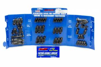 ARP - ARP Black Oxide Complete Engine Fastener Kit - SB Chevy - 12 Pt.