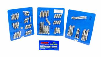 ARP - ARP SB Ford Stainless Steel Complete Engine Fastener Kit - 12 Point