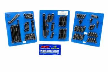 ARP - ARP SB Ford Complete Engine Fastener Kit - Black Oxide - 12-Point - SB Ford