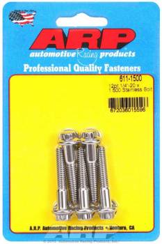 ARP - ARP Stainless Steel Bolt Kit - 12 Point (5) 1/4-20 x 1.500