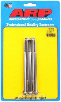 ARP - ARP Stainless Steel Bolt Kit - 12 Point (5) 1/4-20 x 4.750