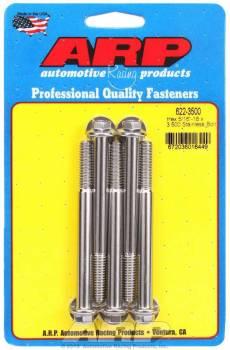 ARP - ARP Stainless Steel Bolt Kit - 6 Point (5) 5/16-18 x 3.500