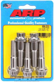 ARP - ARP Stainless Steel Bolt Kit - 12 Point (5) 1/2-13 x 2.000