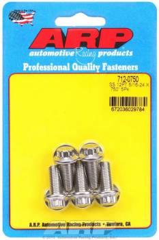 ARP - ARP Stainless Steel Bolt Kit - 12 Point (5) 5/16-24 x .750