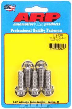 ARP - ARP Stainless Steel Bolt Kit - 12 Point (5) 3/8-24 x 1.000