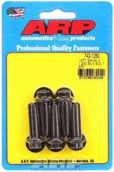 ARP - ARP Bolt Kit - 12 Point (5) 3/8-24 x 1.250
