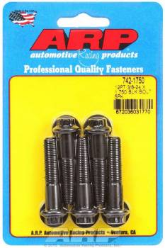 ARP - ARP Bolt Kit - 12 Point (5) 3/8-24 x 1.750