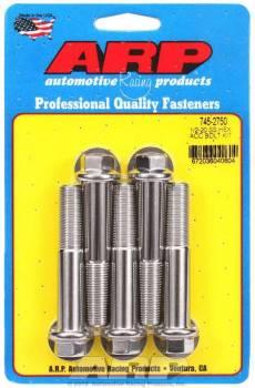 ARP - ARP Stainless Steel Bolt Kit - 6 Point (5) 1/2-20 x 2.750