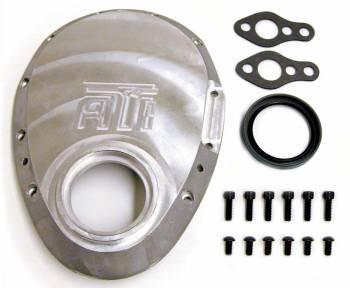 ATI Products - ATI SB Chevy Cast Aluminum Timing Cover w/ Big Block 2.331 Snout Seal Diameter