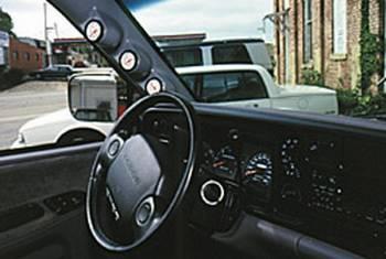 Auto Meter - Auto Meter Gauge Works Triple Pillar Pod - 2-1/16 in.
