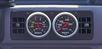 """Auto Meter - Auto Meter Gauge Works Dual Gauge Cage - 2-5/8"""""""