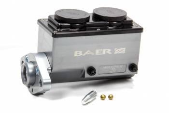 "Baer Disc Brakes - Baer Disc Brakes 15/16"" Bore Master Cylinder Integral Reservoir Passenger Side Port Aluminum - Gray Anodize"
