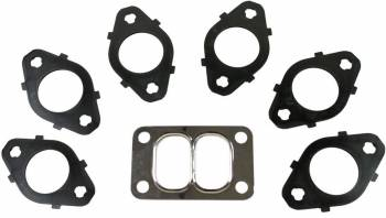 BD Diesel - BD Diesel Pulse Exhaust Gasket Set - Includes Stainless Steel Fasteners/Washer