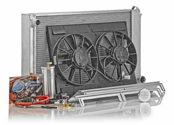 Be Cool - Be Cool Direct-Fit Crossflow Module Assembly w/Standard Transmission 67-69 Camaro/Firebird