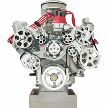 Billet Specialties - Billet Specialties Tru Trac Serpentine System - FE Block Ford w/ A/C
