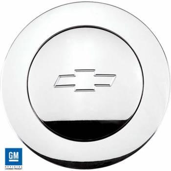 Billet Specialties - Billet Specialties Bowtie Logo Large Horn Button - Polished - Fits Billet Specialties - Lecarra