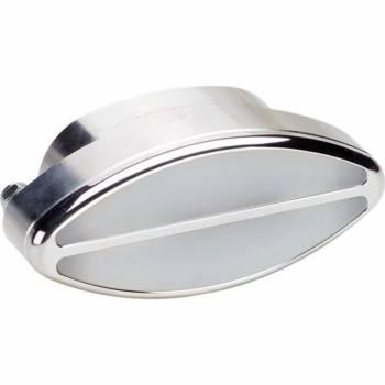 Billet Specialties - Billet Specialties Elliptical Interior Light - Polished - Clear Lens - 4 in. Width x 2 in. Height