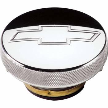 Billet Specialties - Billet Specialties Polished Radiator Cap - Bowtie Emblem - 16 PSI