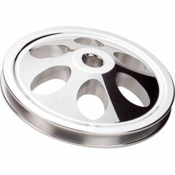Billet Specialties - Billet Specialties Power Steering Pulley - Polished - GM - 1/8 in. Keyway