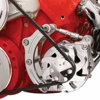 Billet Specialties - Billet Specialties BB Chevy Low Mount Alternator Bracket