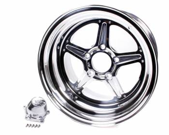 Billet Specialties - Billet Specialties Street Lite Wheel - 15 in. x 10 in. - 5 in. x 4.75 in. - 5.5 in. Back Spacing