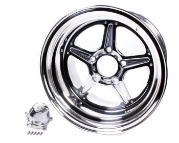 Billet Specialties - Billet Specialties Street Lite Wheel - 15 in. x 10 in. - 5 in. x 4.5 in. - 4.5 in. Back Spacing
