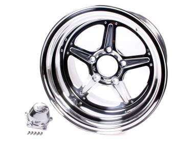 Billet Specialties - Billet Specialties Street Lite Wheel - 15 in. x 10 in. - 5 in. x 4.5 in. - 7.5 in. Back Spacing