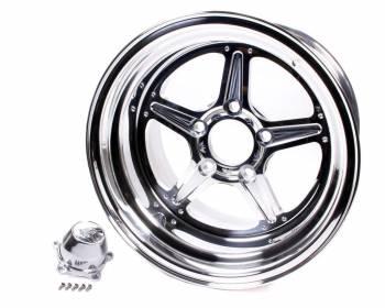 Billet Specialties - Billet Specialties Street Lite Wheel - 15 in. x 14 in. - 5 in. x 4.75 in. - 4.5 in. Back Spacing