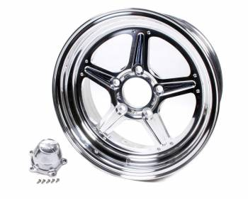 Billet Specialties - Billet Specialties Street Lite Wheel - 15 in. x 6 in. - 5 in. x 4.75 in. - 3.5 in. Back Spacing