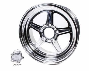 Billet Specialties - Billet Specialties Street Lite Wheel - 15 in. x 6 in. - 5 in. x 4.5 in. - 3.5 in. Back Spacing