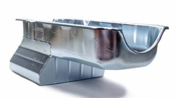 "Champ Pans - Champ Pans CP60LT Series Street/Strip Oil Pan w/ Louvered Windage Tray - 8 Quart - 8"" Deep - SB Chevy 1957-1979"