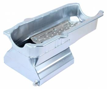 "Champ Pans - Champ Pans CP60LT Series Street/Strip Oil Pan w/ Louvered Windage Tray - 8 Quart - 8"" Deep - SB Chevy 1979-85"