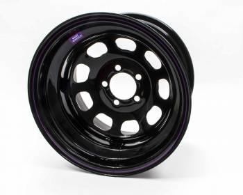 "Bart Wheels - Bart Reinforced Center Wheel - Black - 15"" x 10"" - 5"" x 4.5"" Bolt Circle - 4"" Back Spacing - 29 lbs."
