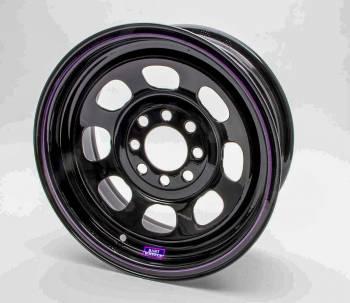 """Bart Wheels - Bart Multi-Fit Mini Stock Wheel - Black - 14"""" x 7"""" - 4 x 4.25"""", 4 x 4.50"""" - 3"""" BS - 18 lbs."""