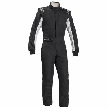 Sparco Sprint RS-2.1 Boot Cut Suit - Black/Gray