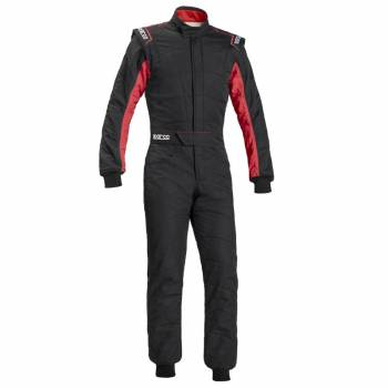 Sparco Sprint RS-2.1 Auto Racing Suit - Black/Red