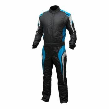 K1 RaceGear - K1 RaceGear GT Suit - Graphite / Blue